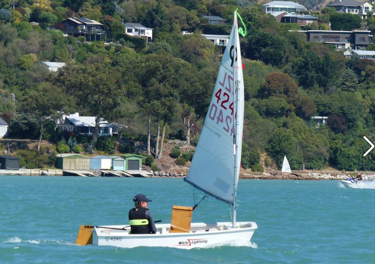 Green fleet and Rainbow regatta report Canterbury Opti Champs
