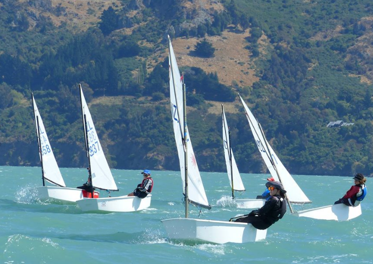 Opti Open fleet and Starling regatta report Canterbury Opti Champs